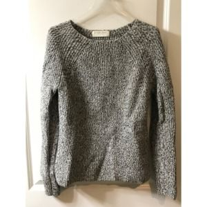 Everlane Small Chunky Wool Wide Crew Neck Sweater